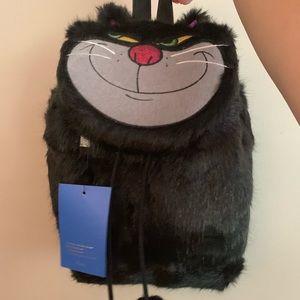 Brand new. Lucifer furry backpack.